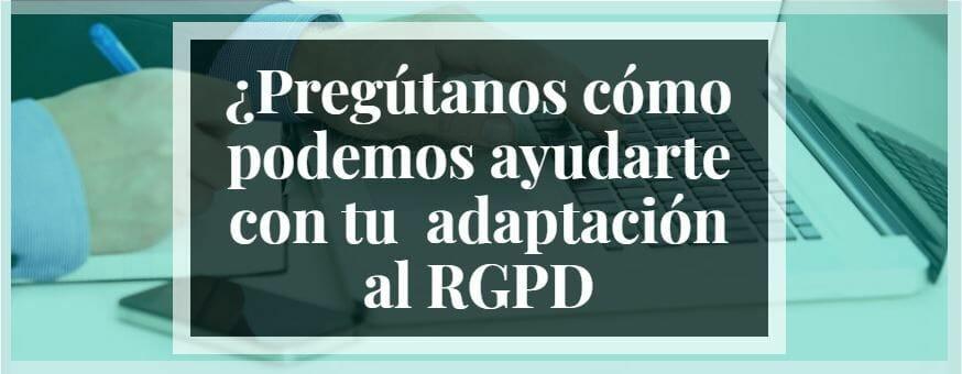 adaptacion RGPD para despachos