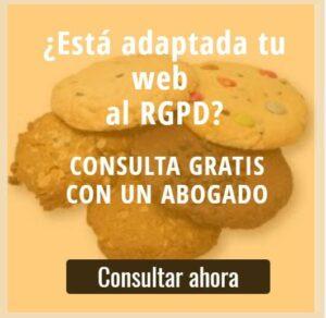 adaptacion aviso cookies rgpd