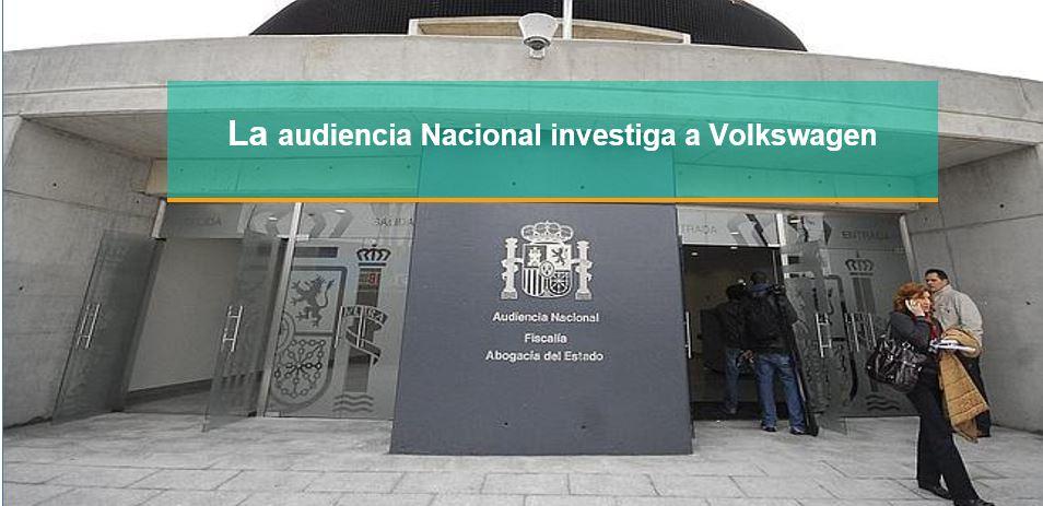 """La Audiencia Nacional va a empezar a investigar """"el trucaje de los motores Volkswagen"""""""