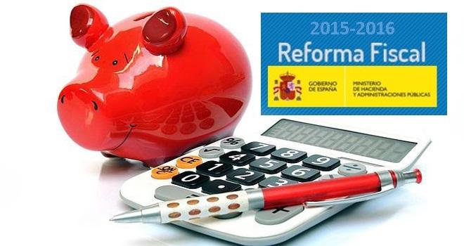 Nueva Reforma Fiscal, Bajan Las retenciones en 2015 y 2016