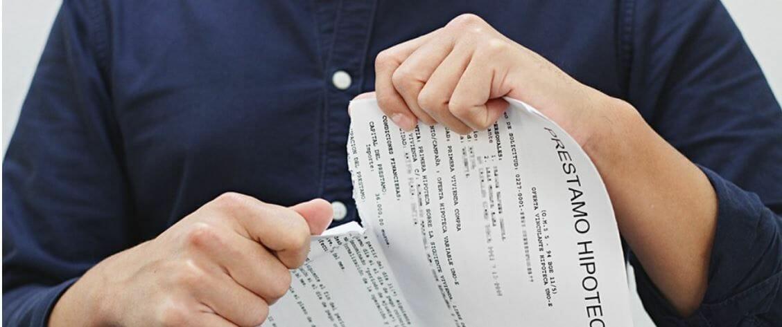 Efectos de la nulidad de las cláusulas de  vencimiento anticipado