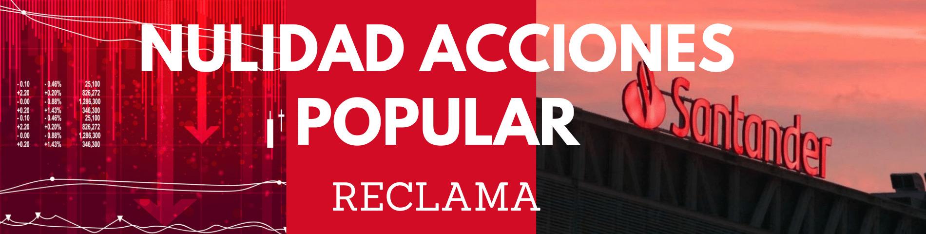 Accionistas del Banco Popular, podéis reclamar al Santander por la venta de acciones